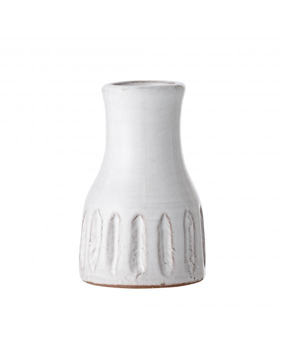 Vase blanc terracotta