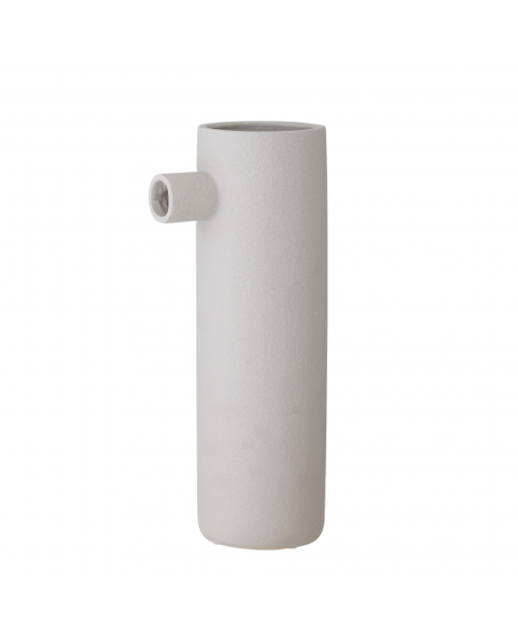 Vase Ciggi blanc grès