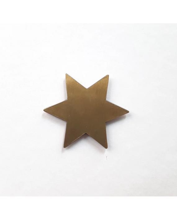 étoile aimantée bijou mural