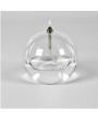 Petite bougie ronde en verre soufflé periglass