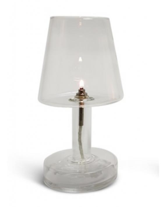 Bougie Lampe transparente